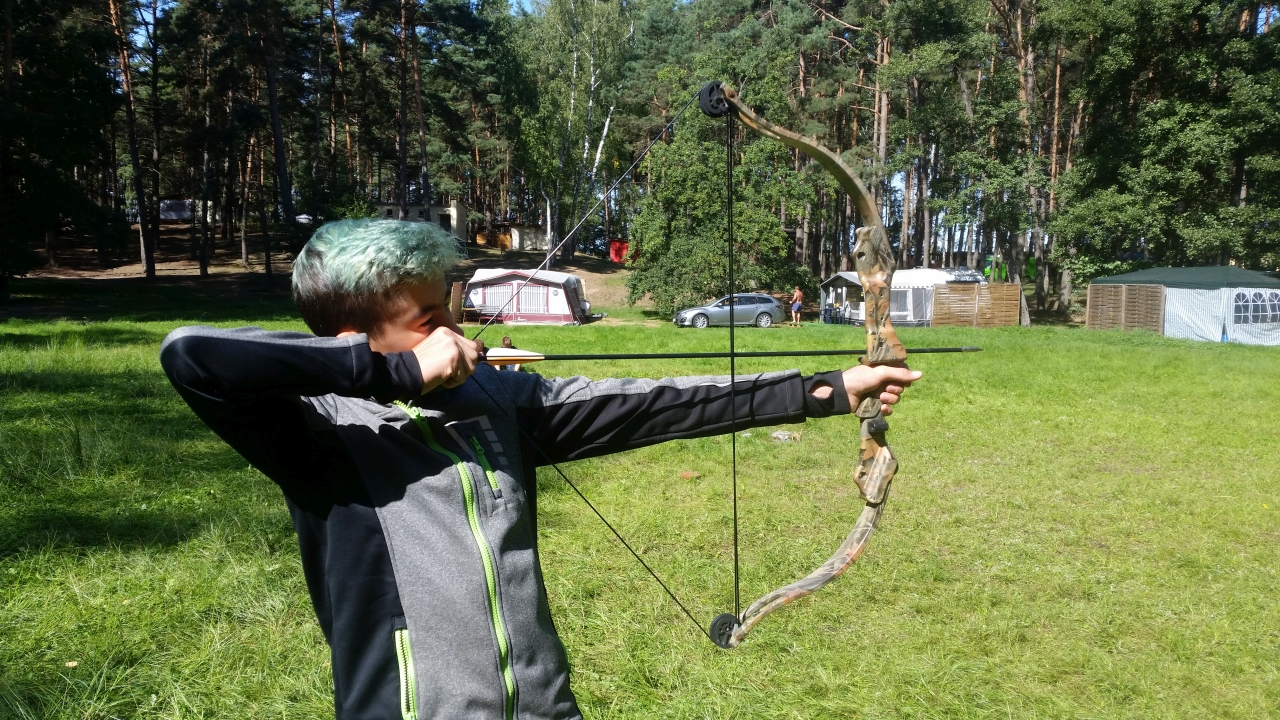 BORY TUCHOLSKIE Obóz survivalowo paintballowy